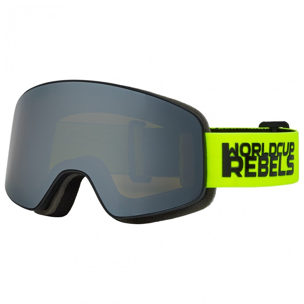 HEAD Horizon Rebels μάσκα-Black/lime