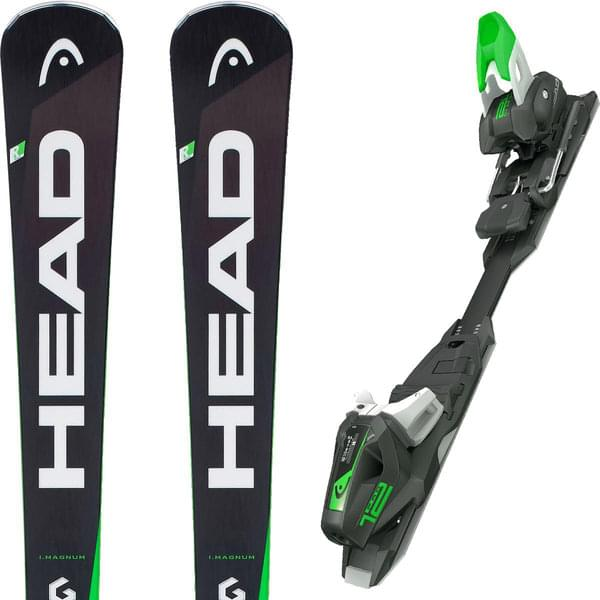 HEAD SUPERSHAPE I.MAGNUM MFPR + PRD 12 GW Ski-Μαύρο