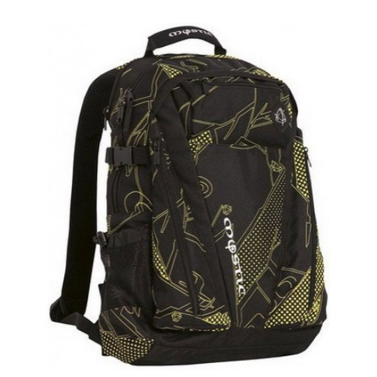 MYSTIC DECENT BACKPACK YELLOW/BLACK-Μαύρο