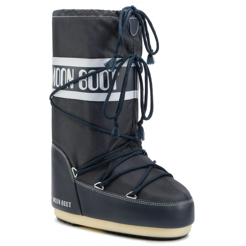 MOON BOOT Nylon Μπότα Χιονιού 14004400064-Denim Blue