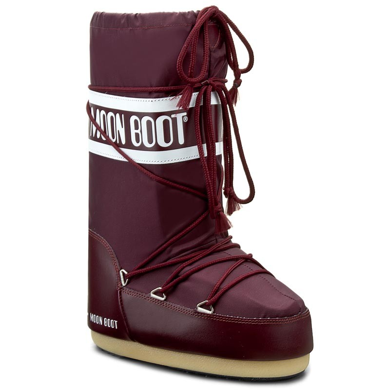 ΜOON BOOTS MOON BOOT Nylon Μπότα Χιονιού 14004400074 -Burgundy
