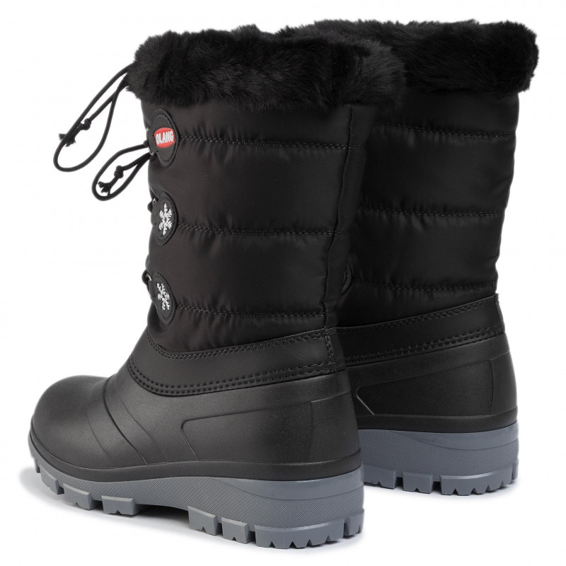 APRES SKI OLANG LADY PATTY WOMAN APRES SKI SHOES- Black