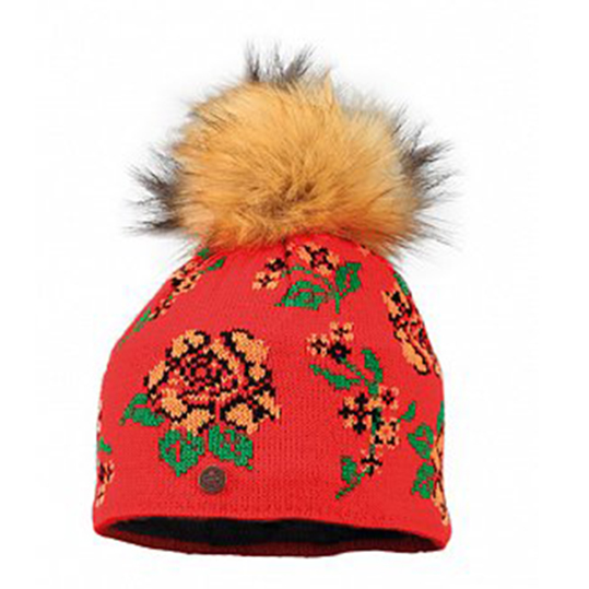 STARLING RUBELLA BEANIE C074D-ORANGE/RED