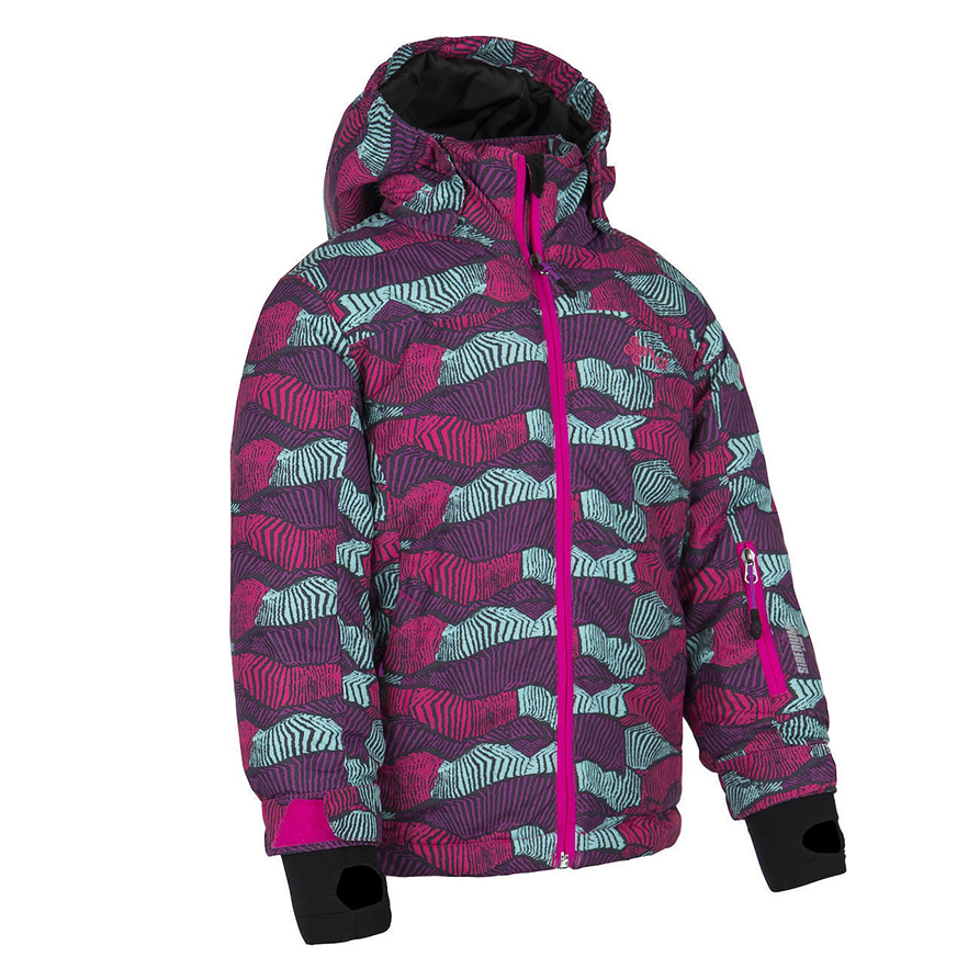 KILPI GENOVESA-JG KIDS JACKET HJ0016KI-PURPLE