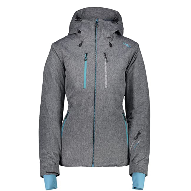 CMP ZIP SKIJACKE WOMAN JACKET 3W04576-GREY