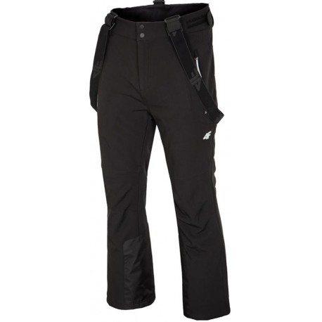 4F SOFTSHELL-M TROUSERS H4Z17-SPMN002-BLACK