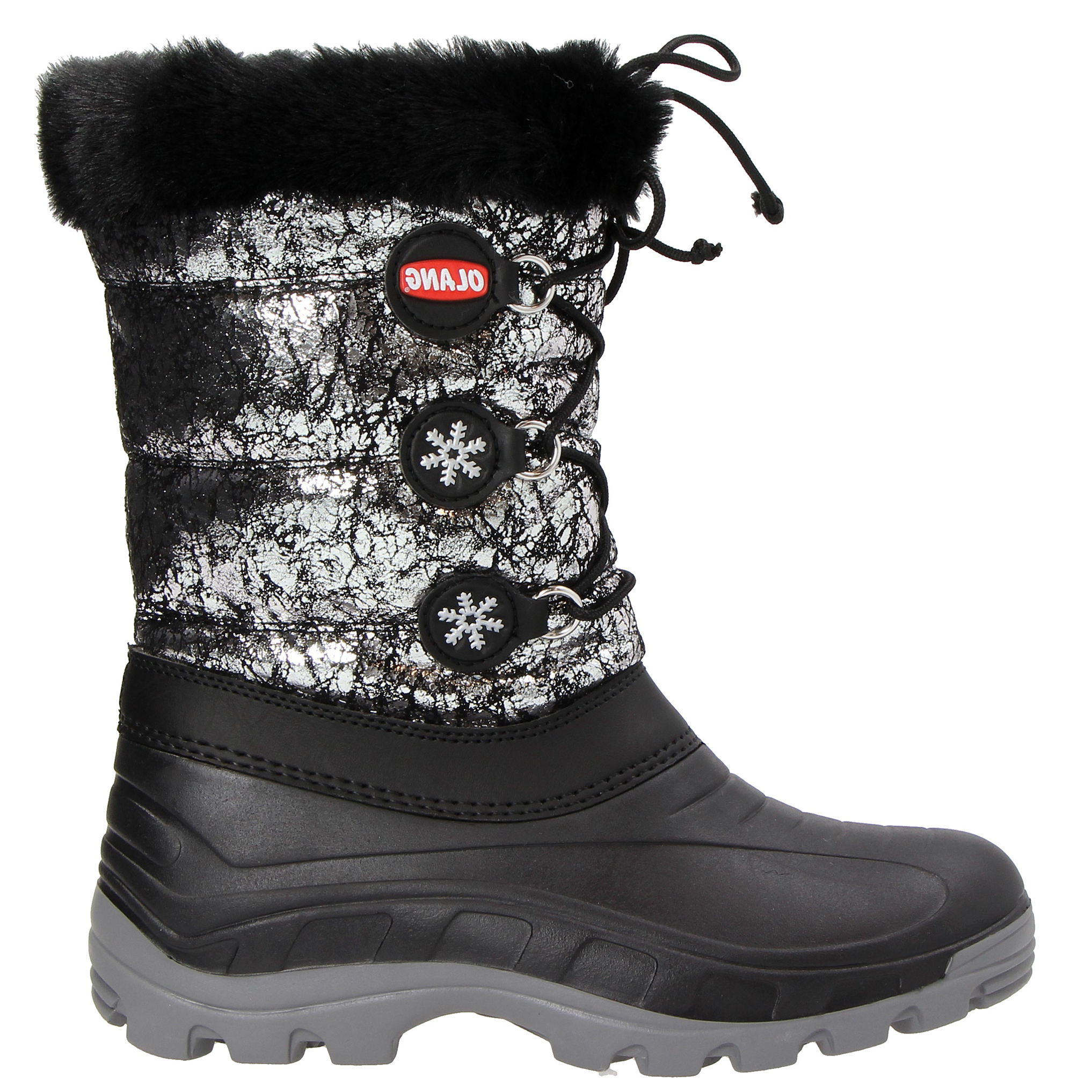 APRES SKI OLANG PATTY LUX WOMAN APRES SKI SHOES-Anthracite