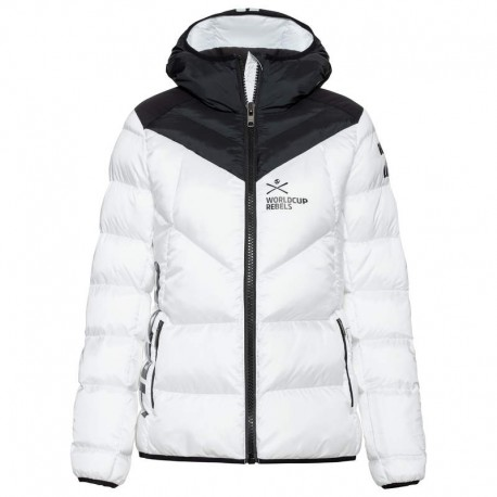 HEAD RACE STAR LIGHT WHBK WOMAN SKI JACKET 824670(2021)-WHITE/BLACK