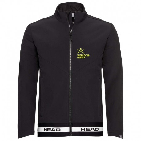 HEAD RACE BK SOFTSHELL SKI JACKET 821850(2021)-BLACK