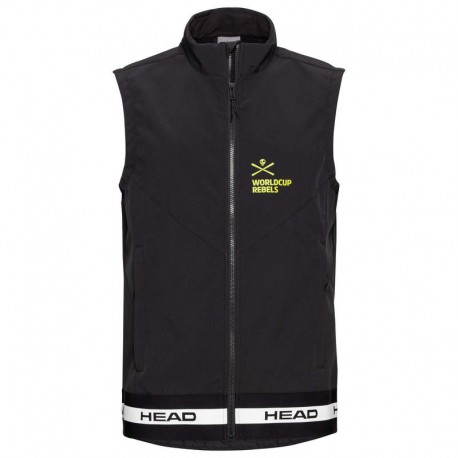 HEAD RACE BK SOFTSHELL GILET 821860(2021)-BLACK
