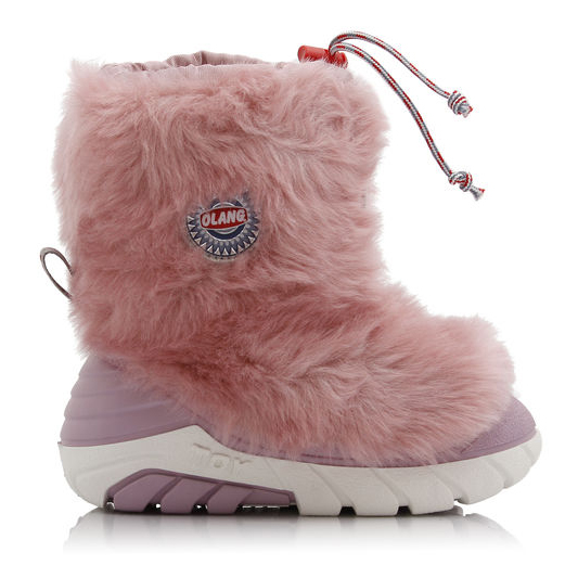 OLANG BRONTOLO 840 GIRL'S APRES SKI SHOES-Rose