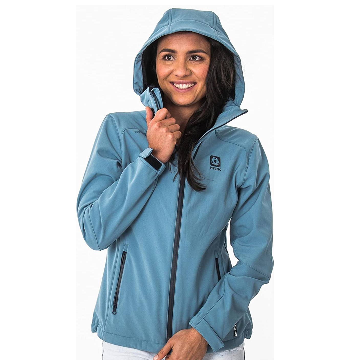 MYSTIC GLOBE WOMENS JACKETS -BLUE