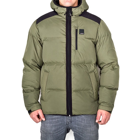 MYSTIC DISCOVER MENS JACKETS -GREY GREEN