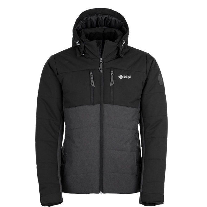KILPI  TORRES-M MEN JACKET HM0055KI-BLACK/GREY