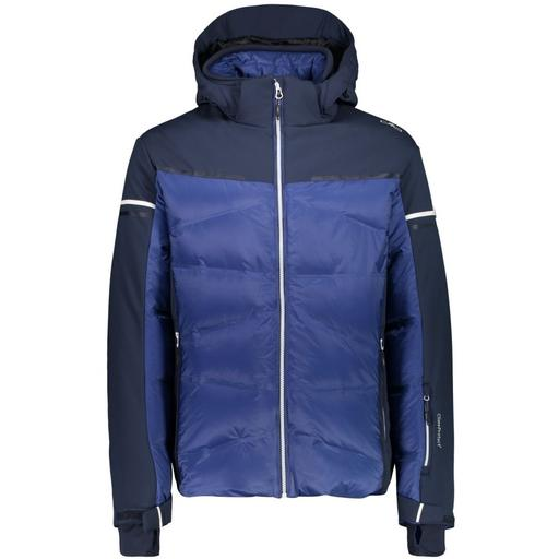 CMP ZIP HOOD MEN JACKET 38W0587/M934-BLUE