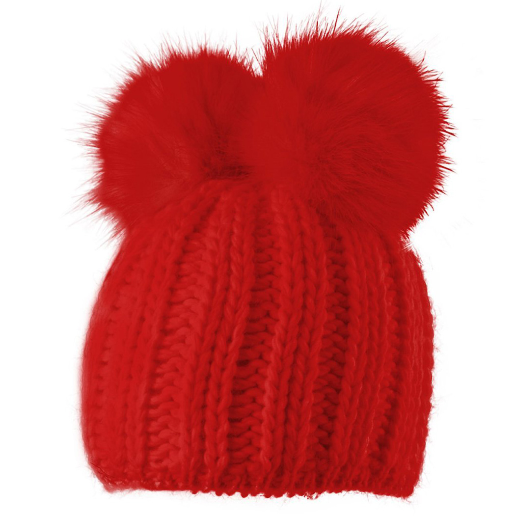 STARLING TEDDY BEANIE-RED