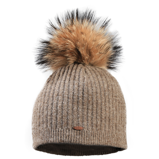 STARLING LISA BEANIE C015C-LIGHT BROWN