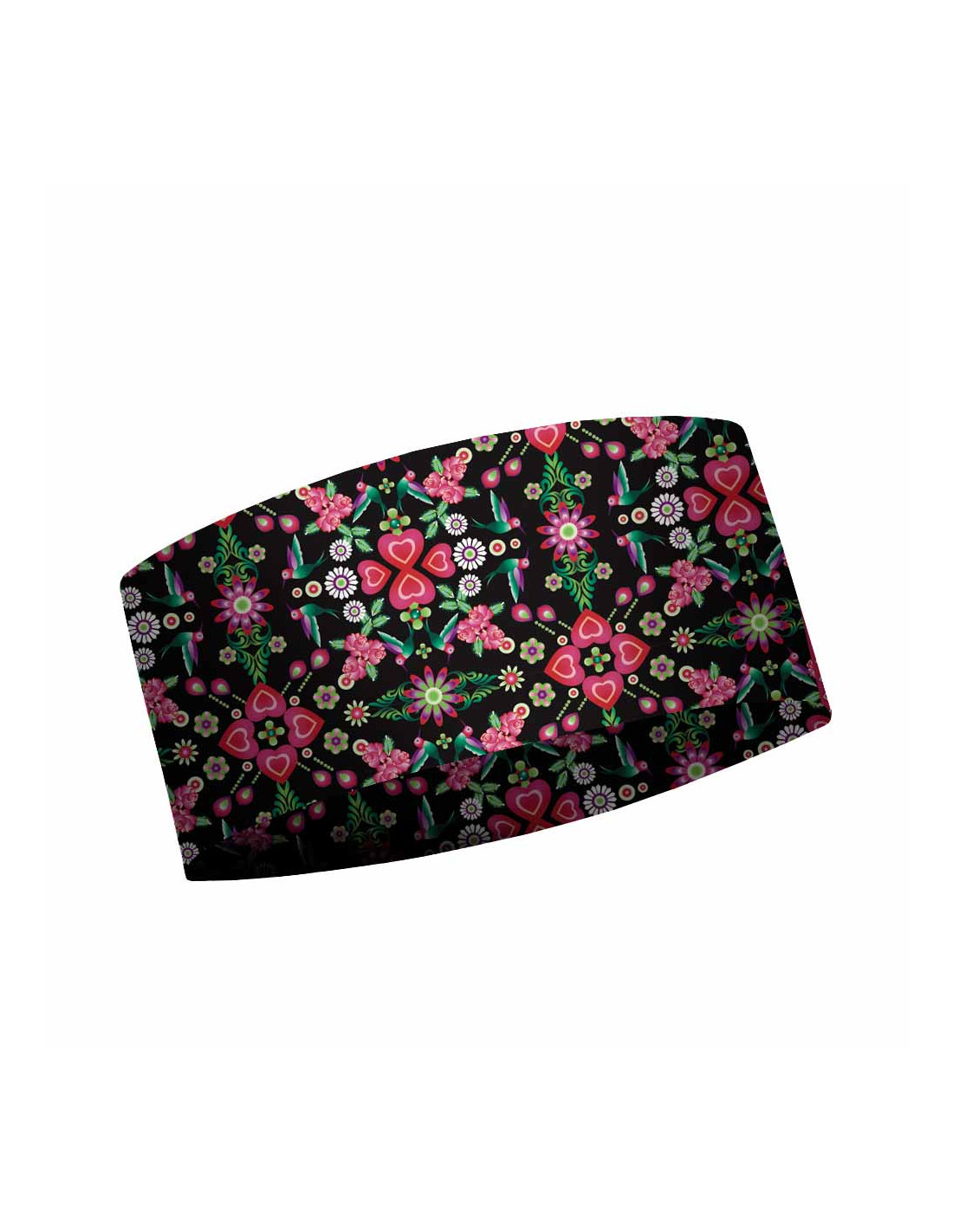 MATT LIGHT HEADBAND AMOR NOCHE-BLACK