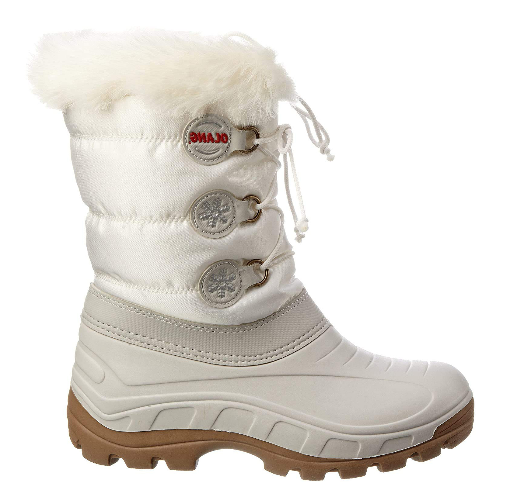 OLANG LADY PATTY WOMAN APRES SKI SHOES-White