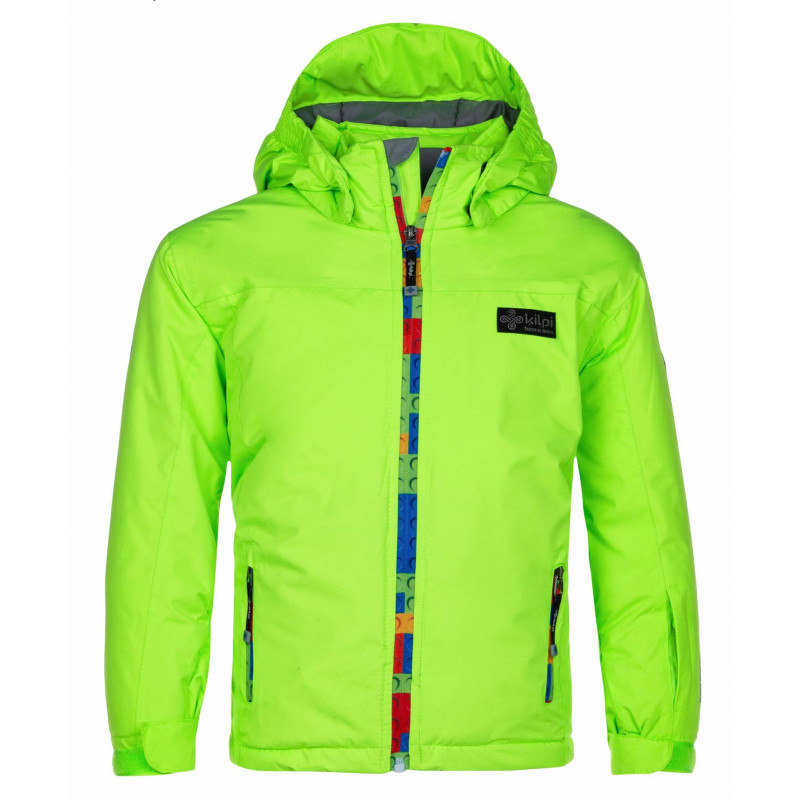 KILPI LIGAS-JB KIDS JACKET LJS014KI-BRIGHT GREEN