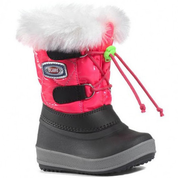 OLANG MAGIC 840 GIRL'S APRES SKI SHOES-Rose