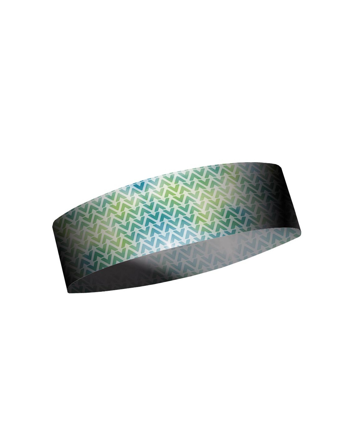 MATT NARROW HEADBAND BAMBU-WHITE/GREEN