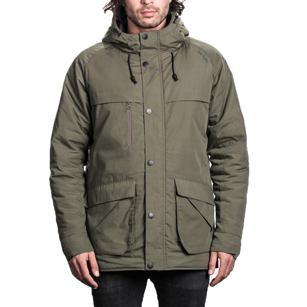 MYSTIC RUSH MENS JACKETS-KHAKI