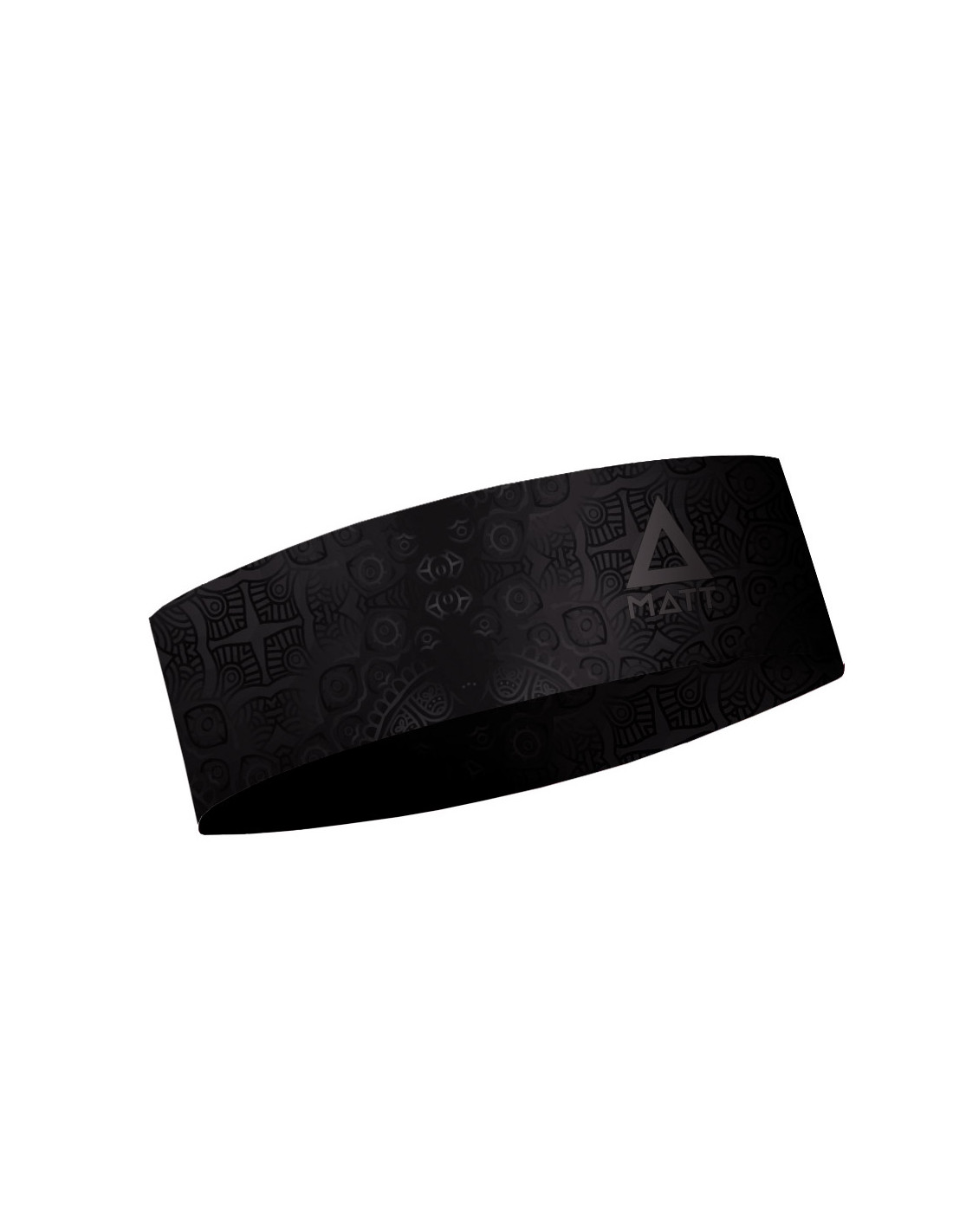 MATT NARROW HEADBAND FUSION-BLACK