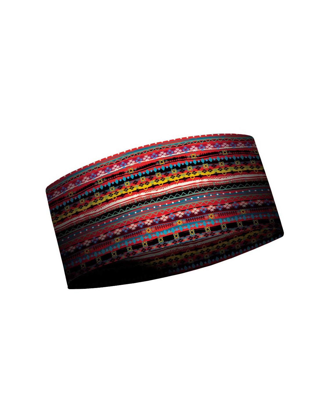 MATT THERMO HEADBAND TRIBANDS-BLACK/RED