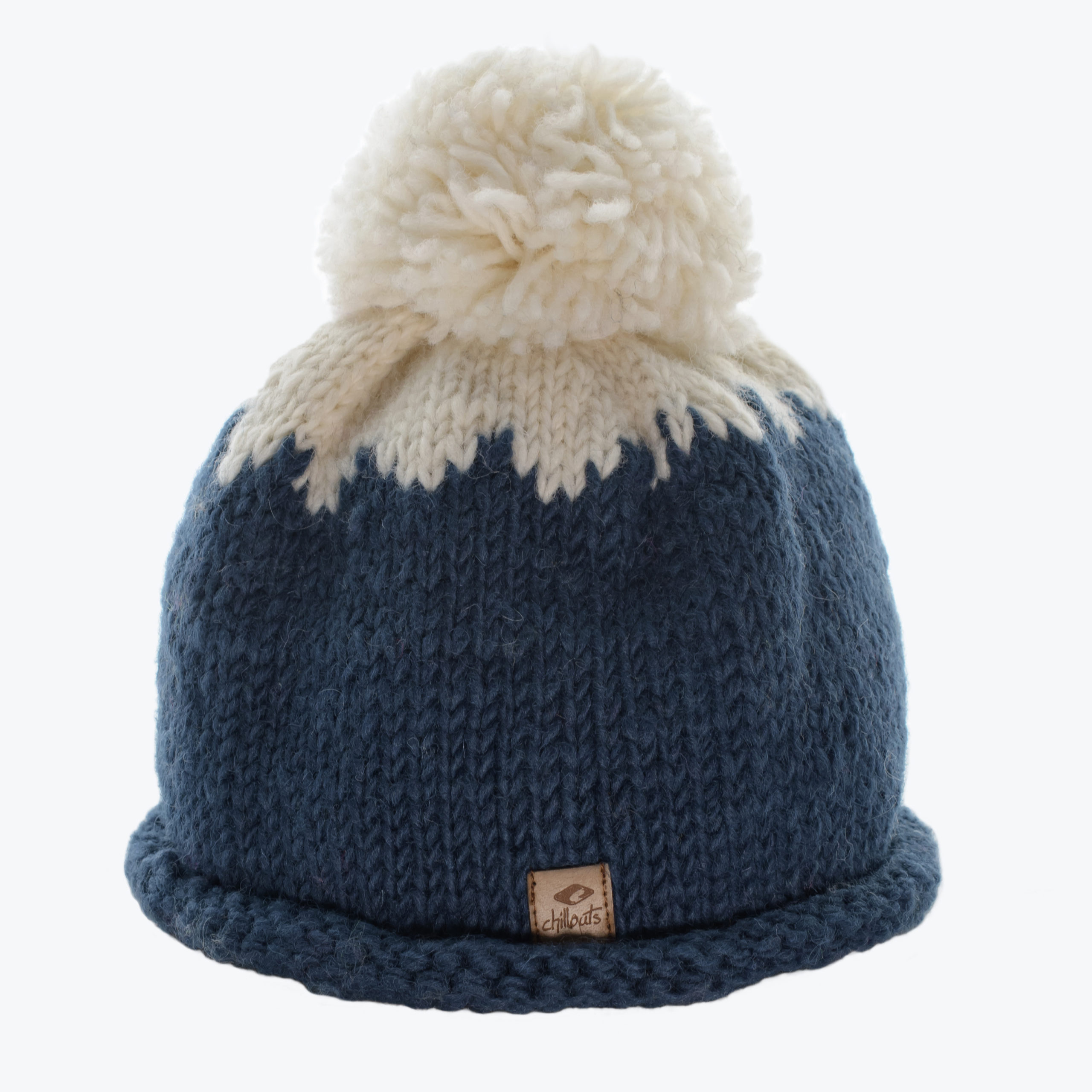 CHILLOUTS KID'S KNITTED BEANIE -BLUE