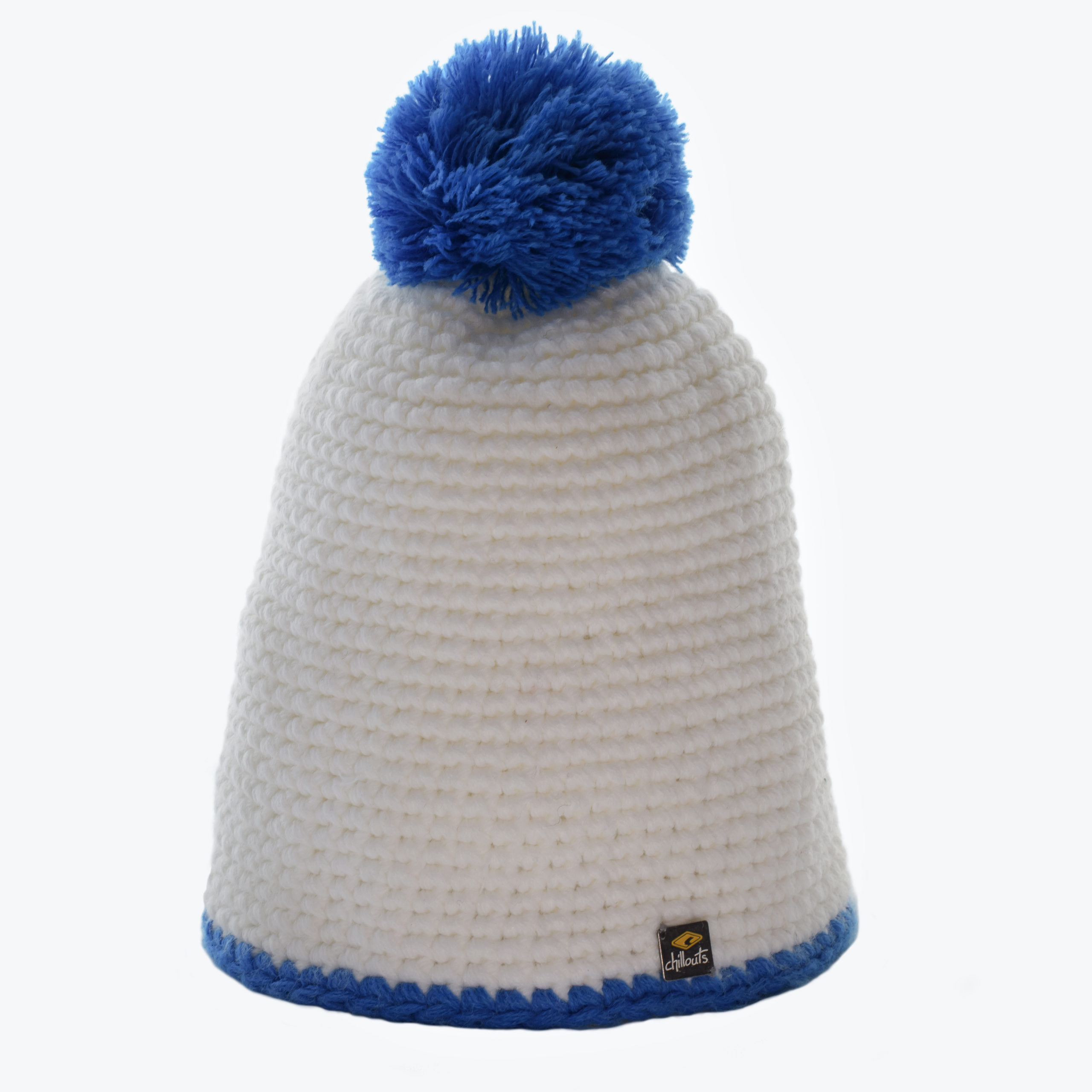 CHILLOUTS KID'S KNITTED BEANIE -WHITE