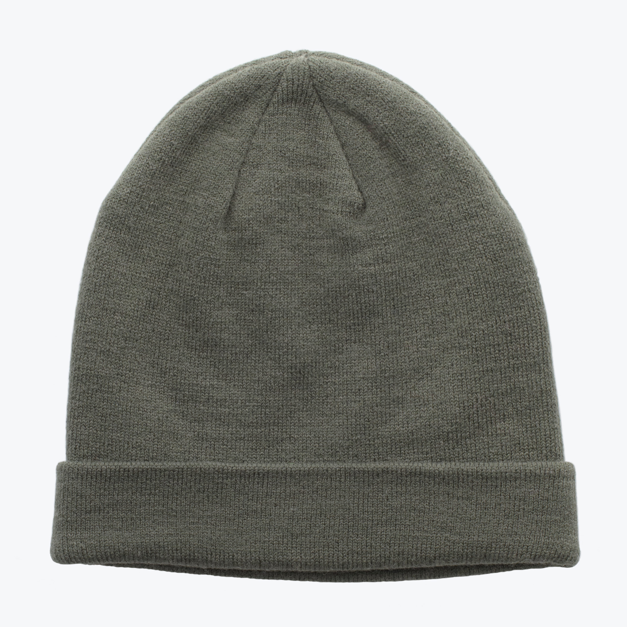 MEN'S LIGHT COTTON BEANIE-KHAKI
