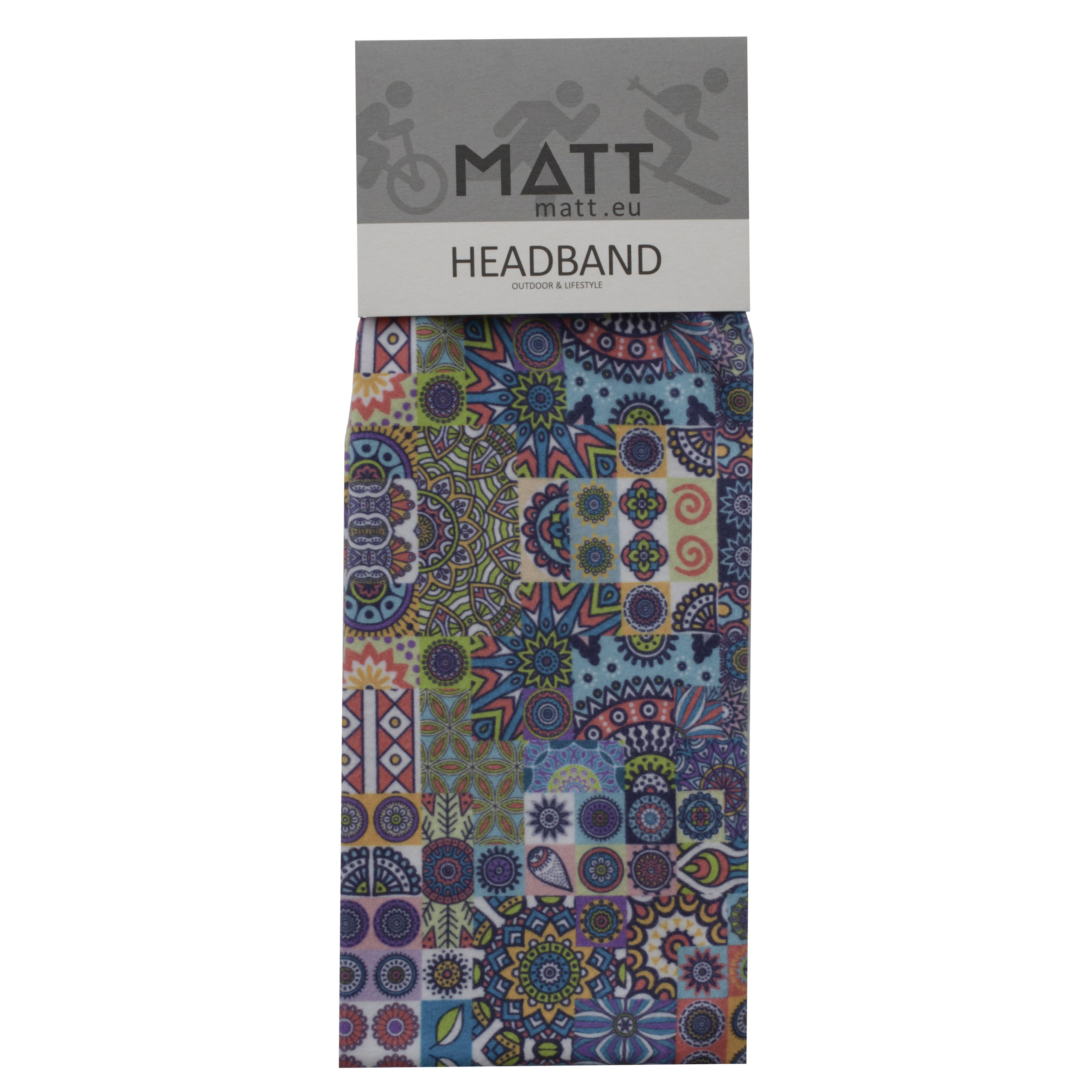 Headbands MATT THERMO HEADBAND -MULTICOLOR