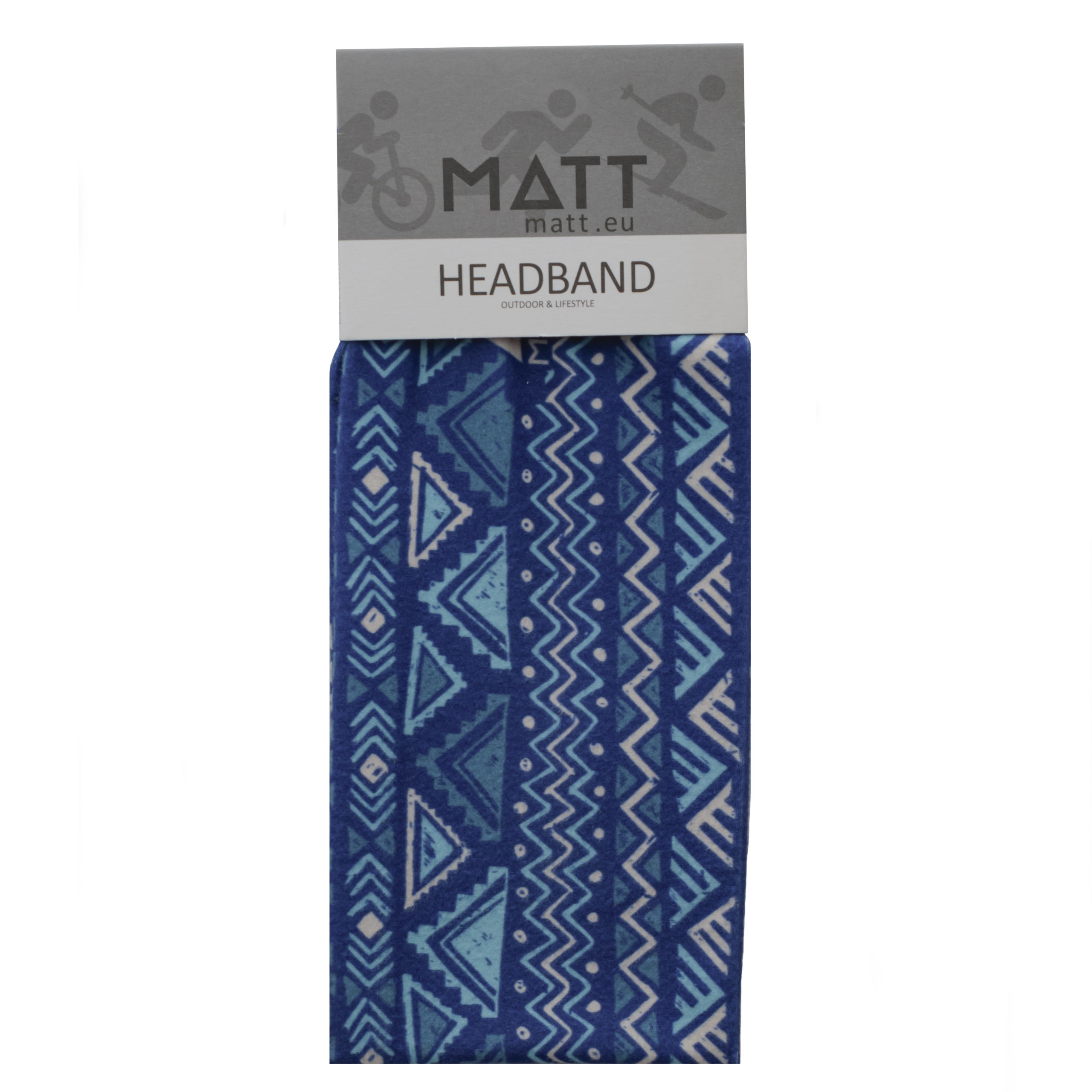 MATT LIGHT HEADBAND -BLUE