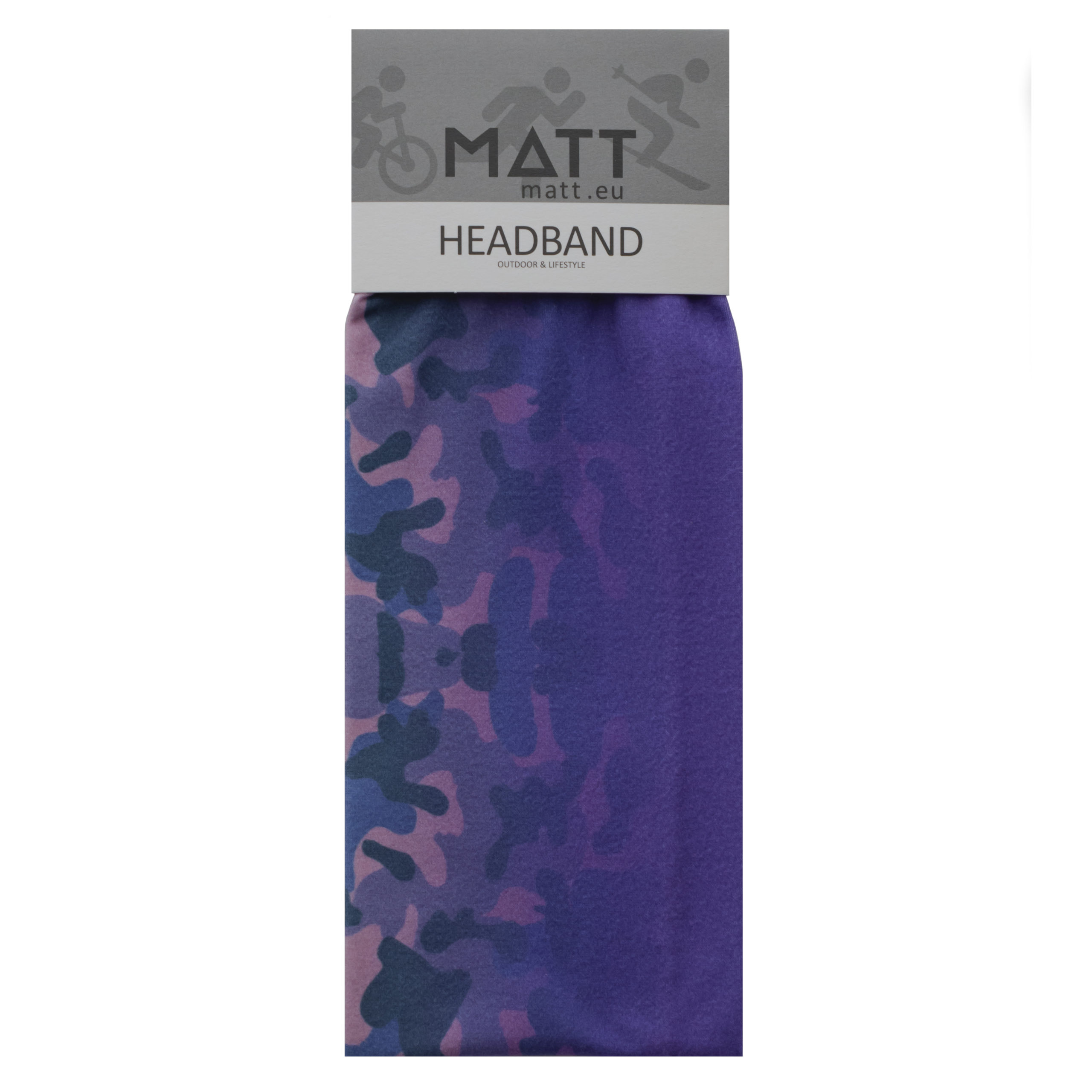 MATT THERMO HEADBAND-PURPLE