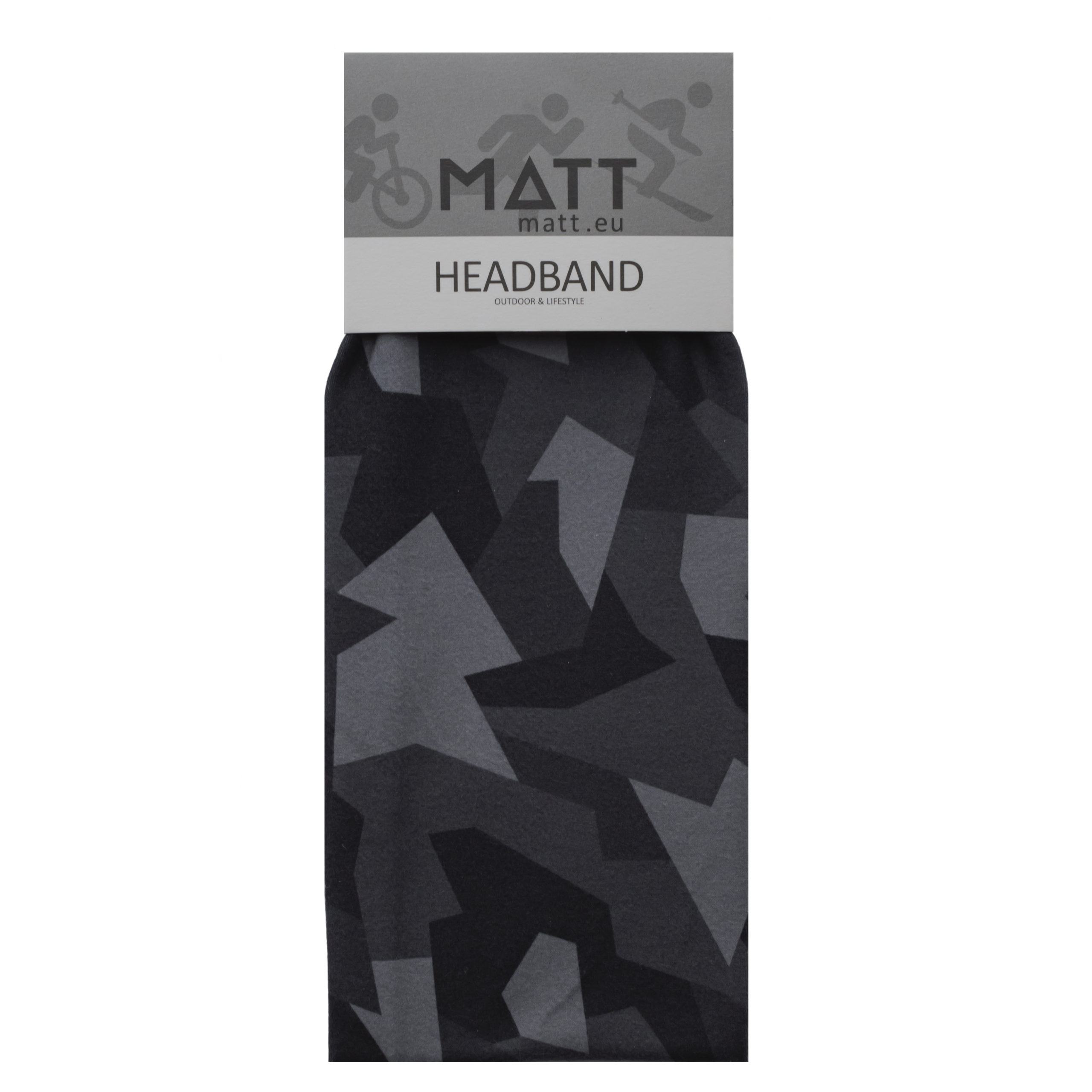 Headbands MATT THERMO HEADBAND-BLACK